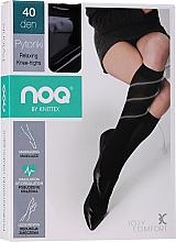 Kup Podkolanówki relaksujące dla kobiet, 40 DEN, nero - Knittex