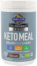 Kup Zbilansowany koktajl dietetyczny Keto o smaku czekoladowym - Garden of Life Dr. Formulated