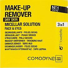 Kup Chusteczki do demakijażu - Comodynes Make Up Remover Micellar Solution Easy Cleanser