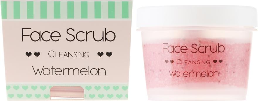 Oczyszczający peeling do twarzy i ust Arbuz - Nacomi Moisturizing Face&Lip Scrub Watermelon