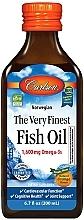 Kup Suplement diety w płynie, Olej rybny o smaku pomarańczowym - Carlson Labs The Very Finest Fish Oil