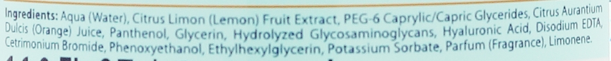 Nawilżający płyn micelarny z bioaktywną wodą cytrusową Pomarańcza - Bielenda Fresh Juice — фото N5