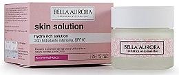 Kup Nawilżający krem do twarzy SPF 15 - Bella Aurora Skin Solution Hydra Rich Solution 24H