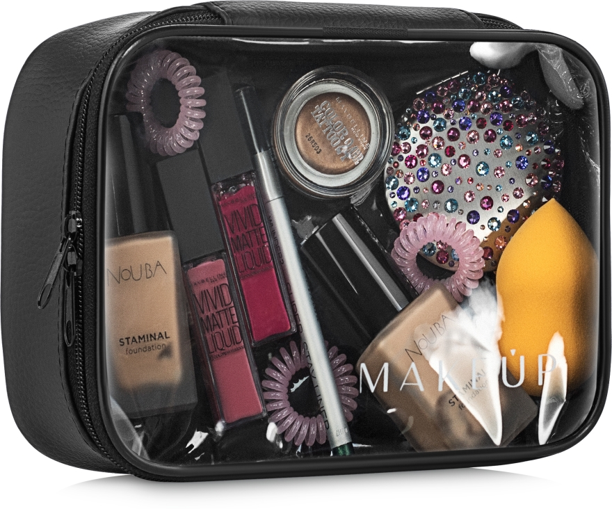 Kosmetyczka przezroczysta Big Event (19 x 14 x 7 cm, bez zawartości) - Makeup