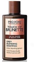 Kup Szampon wzmacniający brąz dla mężczyzn - Pro:Voke Touch of Brunette Grey Blending Shampoo