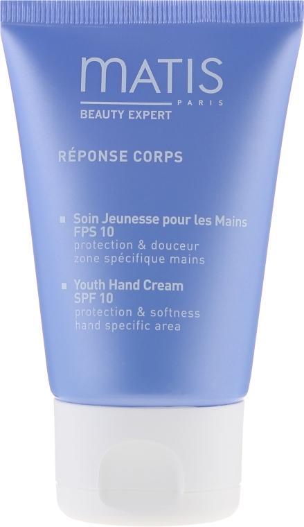 Odmładzający krem do rąk SPF 10 - Matis Réponse Corps Beauté Youth Hand Cream — фото N2
