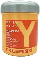 Kup Energizująca maska do włosów z beta-karotenem - Freelimix Daily Plus Betacarot Plus Mask