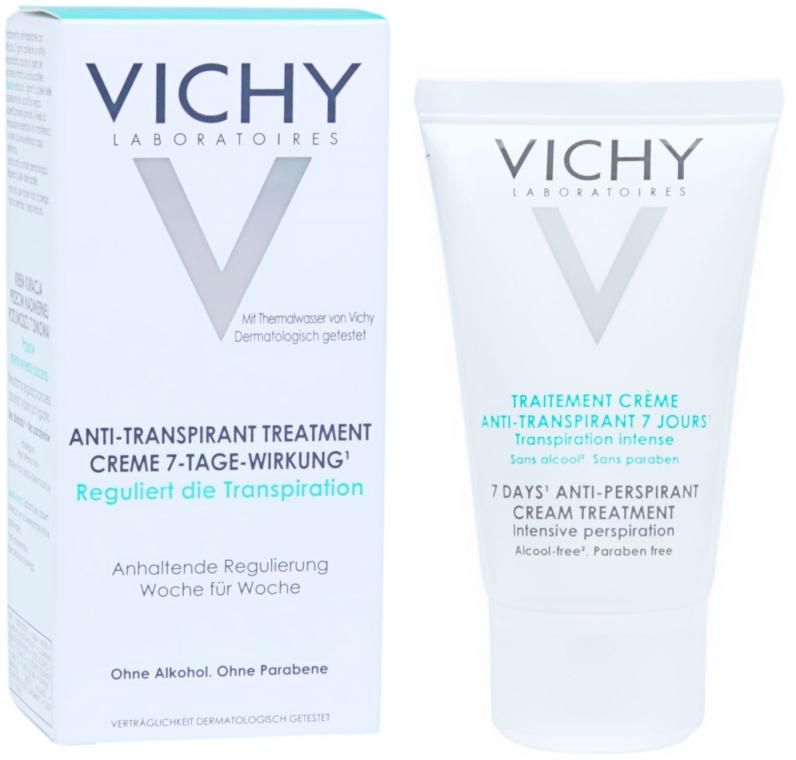 Antyperspirant w kremie przeciw intensywnemu poceniu - Vichy 7 Day — фото N1
