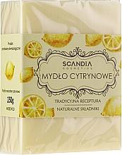 Kup Cytrynowe mydło w kostce - Scandia Cosmetics