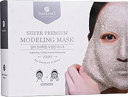 Kup Oczyszczająca maska do twarzy zwężająca pory - Shangpree Silver Premium Modeling Mask (gel 5 x 50 g + powder 5 x 4,5 g)
