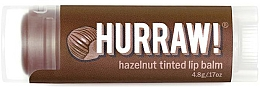 Kup Balsam do ust Orzech laskowy - Hurraw! Hazelnut Tinted Lip Balm