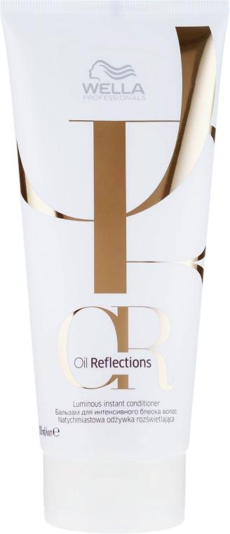 Intensywnie nabłyszczający balsam do włosów - Wella Professionals Oil Reflections Luminous Instant Conditioner