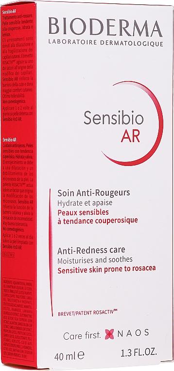 Krem aktywny do skóry z problemami naczynkowymi - Bioderma Sensibio AR Anti-Redness Care