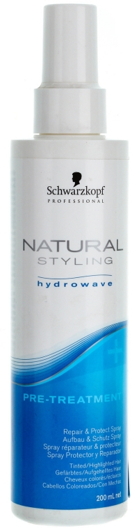 Ochronny i odbudowujący spray do włosów - Schwarzkopf Professional BC Bonacure Natural Styling Pre Treatment Protect & Repair — фото N1