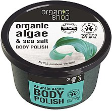Kup Scrub do ciała Atlantyckie wodorosty - Organic Shop Body Scrub Organic Algae & Sea Salt