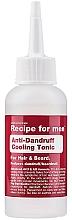 Kup Odświeżający tonik przeciwłupieżowy - Recipe For Men Anti-Dandruff Cooling Tonic