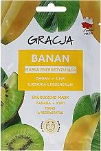 Kup Energetyzująca maska na tkaninie do twarzy Banan + kiwi - Gracja