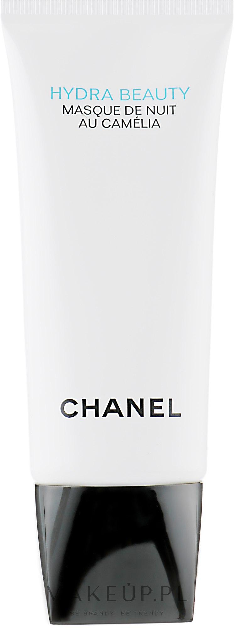 Dotleniająco-nawilżająca maska do twarzy na noc - Chanel Hydra Beauty Masque de Nuit au Camélia — фото 100 ml