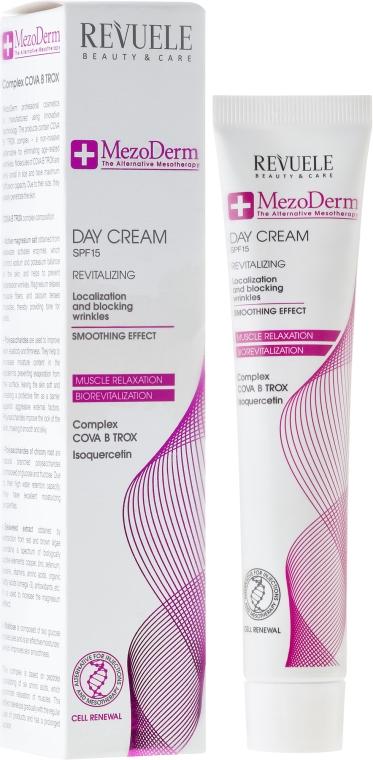 Rewitalizujący krem do twarzy na dzień SPF 15 - Revuele Mezo Derm Revitalizing Day Cream — фото N1