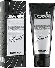 Kup Pianka do mycia twarzy z ekstraktem ze śluzu ślimaka - FarmStay Black Snail Deep Cleansing Foam