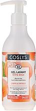 Kup Oczyszczający żel do ciała i włosów z organiczną morelą - Coslys Baby Care Baby Cleansing Gel-Hair & BodyWith Organic Apricot