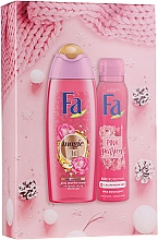 Kup Zestaw - Fa Pink Passion (sh/gel/250ml + deo/spray/150ml)