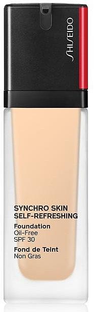 PRZECENA! Nawilżający podkład do twarzy - Shiseido Synchro Skin Self-Refreshing Foundation SPF 30 * — фото N1