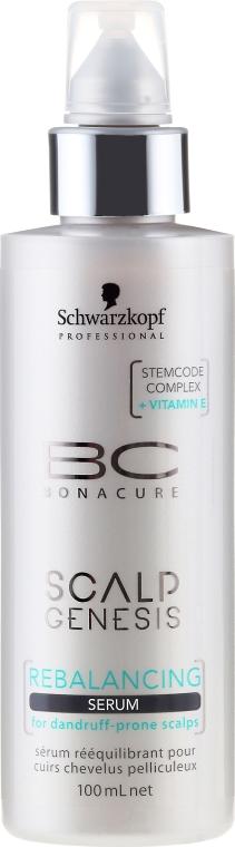 Balansujące serum do włosów - Schwarzkopf Professional BC Scalp Genesis Rebalancing Serum — фото N2