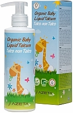 Kup Organiczny krem dla niemowląt z talkiem - Azeta Bio Organic Baby Liquid Talcum