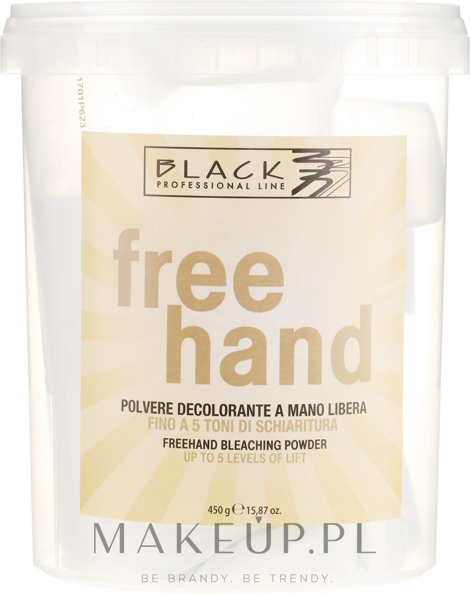 Proszek do rozjaśniania włosów - Black Professional Line Bleaching Powder For Free-Hand — фото 450 g
