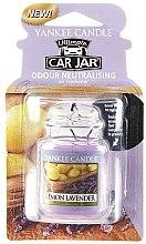 Kup Zapach do samochodu - Yankee Candle Ultimate Car Jar Lemon Lavender