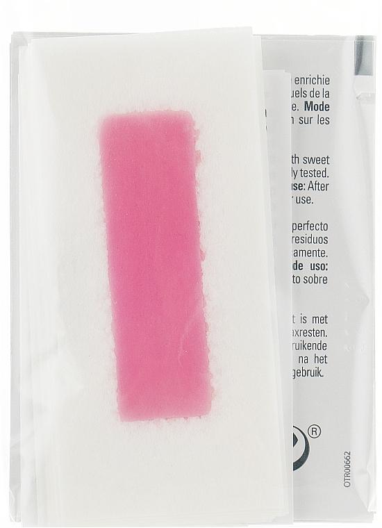 Paski z zimnym woskiem do depilacji twarzy i delikatnych stref - Byphasse Cold Wax Strips Face & Delicate Areas For Sensitive Skin — фото N4