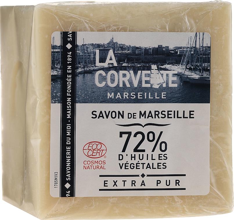 Czyste mydło - La Corvette Savon de Marseille Extra Pur — фото N1