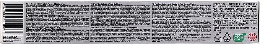 Wybielająca pasta do zębów - SPLAT Special Extreme White Toothpaste — фото N3