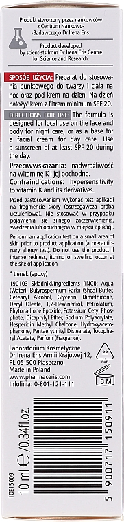 Aktywny preparat punktowy uszczelniająco-wzmacniający naczynka - Pharmaceris N Capinon K 2% Cream — фото N2