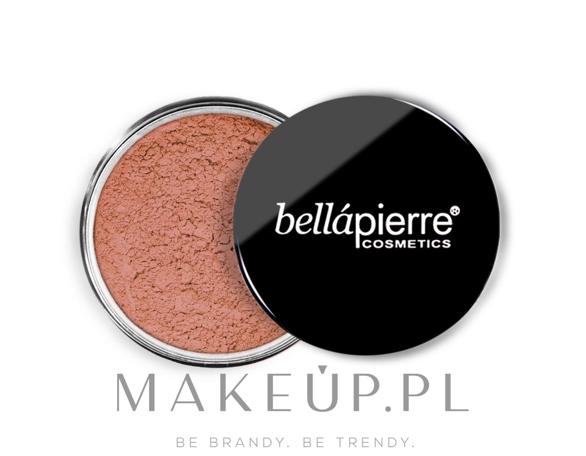 Sypki róż mineralny - Bellapierre Cosmetics Mineral Blush — фото Amaretto