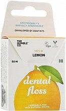 Kup Ekologiczna nić dentystyczna Cytryna - The Humble Co. Dental Floss Lemon