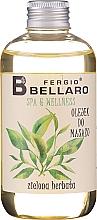 Kup Olejek do masażu ciała Zielona herbata - Fergio Bellaro Massage Oil Green Tea
