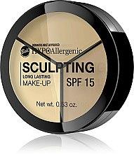 Kup Hipoalergiczny trwały fluid do konturowania twarzy SPF 15 - Bell HYPOAllergenic Sculpting Long Lasting Make-Up