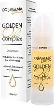 Kup Nabłyszczający olejek do włosów - Collagena Solution Golden Oil Complex