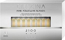 Kup Kuracja dla mężczyzn stymulująca odrastanie włosów i zapobiegająca ich wypadaniu 2100 - Crescina Hair Follicular Island 2100 Man