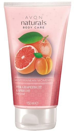 Scrub do ciała Grejpfrut i morela - Avon Naturals Pink Grapefruit & Apricot Body Scrub — фото N1