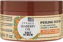 Kup Peeling solny z olejem z rokitnika - GlySkinCare Organic Seaberry Oil Salt Scrub