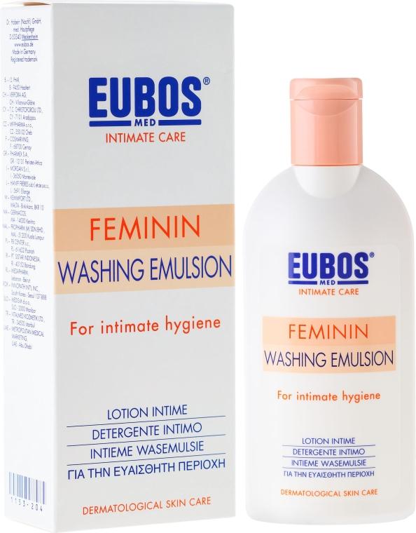 Emulsja do higieny intymnej - Eubos Med Intimate Care Feminin Washing Emulsion — фото N1