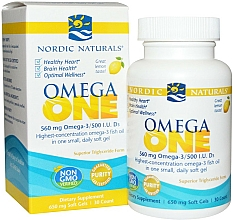 Kup Suplement diety Omega One o smaku cytrynowym, 560 mg - Nordic Naturals Omega One Lemon Flavor