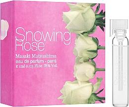 Kup Masaki Matsushima Snowing Rose - Woda perfumowana (próbka)
