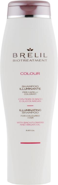 Nabłyszczający szampon do włosów farbowanych - Brelil Bio Treatment Colour Illuminating Shampoo For Coloured Hair — фото N2