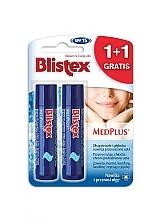 Kup Zestaw - Blistex MedPlus Stick Lip Balm SPF 15 (2 x l/balm 4,25 g)