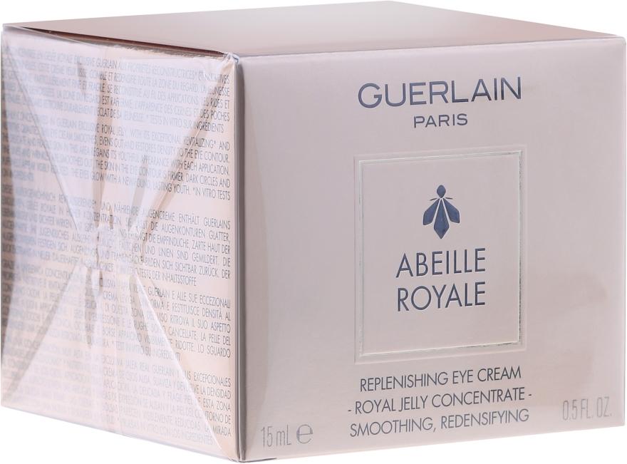 Przeciwstarzeniowy krem pod oczy - Guerlain Abeille Royale Replinishing Eye Cream — фото N2