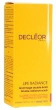 Kup Rozjaśniający scrub do twarzy - Decléor Life Radiance Double Radiance Scrub